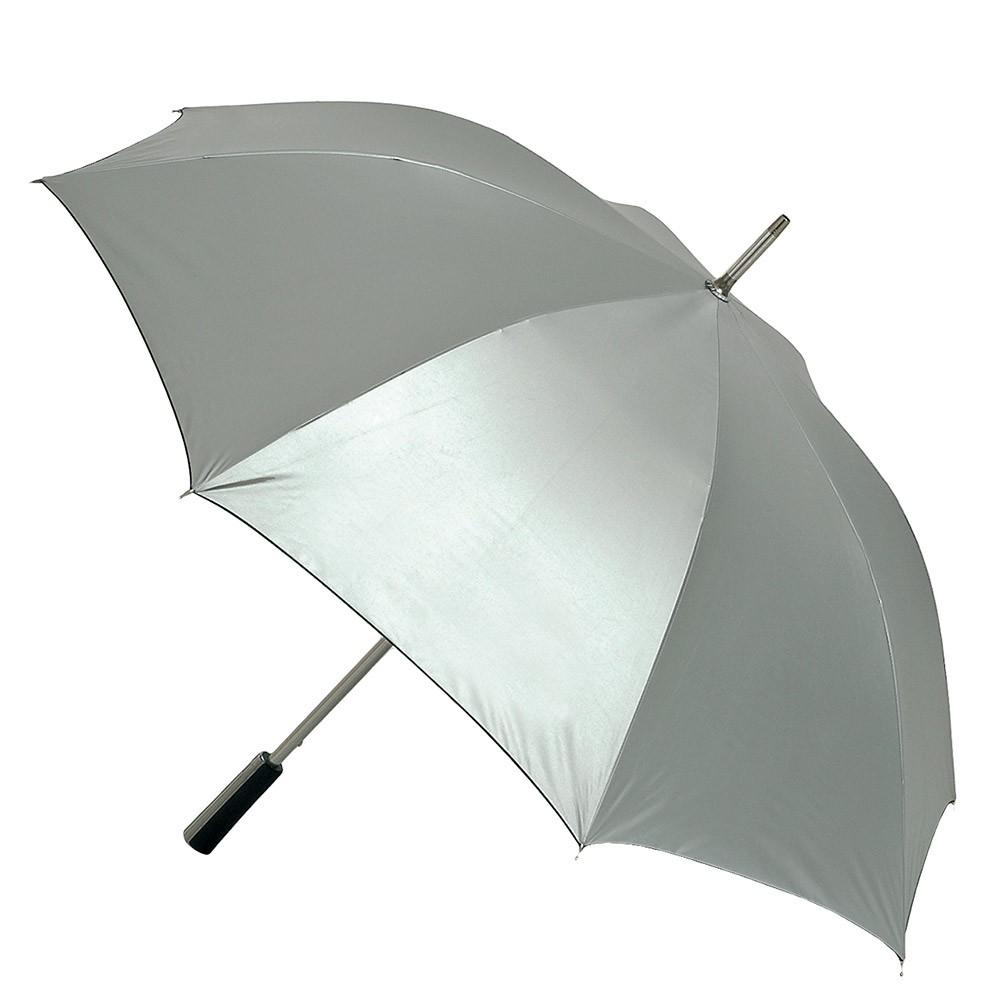 Portier-/Golfschirm - Automatik - Windproof Platin ca. 120 cm
