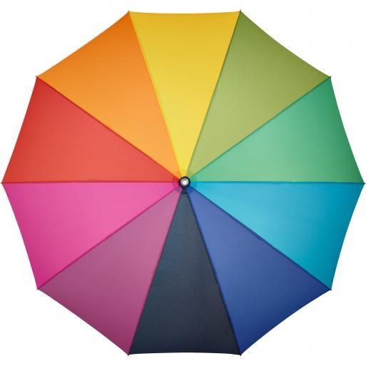 Midsize-Stockschirm ALU light10 Colori 4111