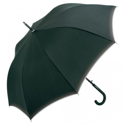 AC-Alu-Midsize-Stockschirm Windmatic® Black Edition 4875