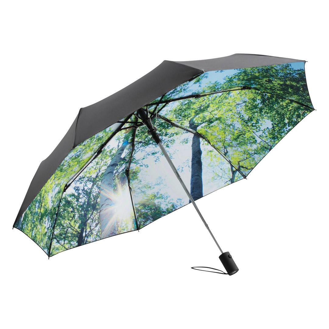 Taschenschirm Natur nachhaltig Wald